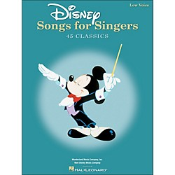 Hal Leonard Disney Songs For Singers For Low Voice (740296)