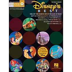 Hal Leonard Disney's Best For Male Singers Volume 12 Book/CD (740345)