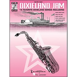 Hal Leonard Dixieland Jam - 15 Favorite Dixieland Songs For Alto Sax Book/CD Pkg (385015)