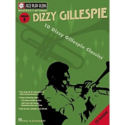 Hal Leonard Dizzy Gillespie - Jazz Play Along Volume 9 Book with CD (843002)