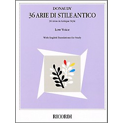 Hal Leonard Donaudy - 36 Arie Di Stile Antico For Low Voice (740068)