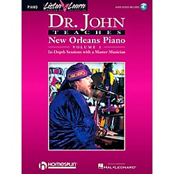 Hal Leonard Dr. John Teaches New Orleans Piano Volume 1 CD Package (699090)
