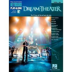 Hal Leonard Dream Theater - Keyboard Play-Along Vol. 24 Book/Audio ...