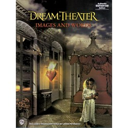 Hal Leonard Dream Theater Images & Words Guitar Tab Book (699449)