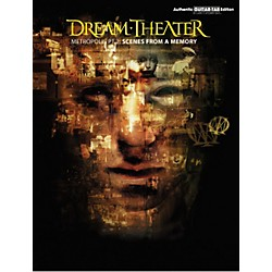 Hal Leonard Dream Theater Metropolis Part 2 Scenes from a Memory Guitar Tab Book (701259)