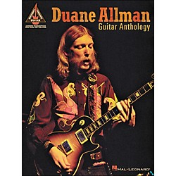Hal Leonard Duane Allman Guitar Anthology Tab Book (690958)