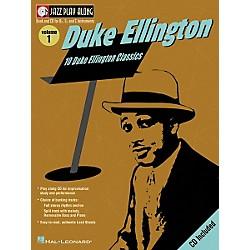 Hal Leonard Duke Ellington - Jazz Play Along, Volume 1 (Book/CD) (841644)