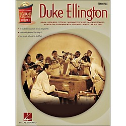 Hal Leonard Duke Ellington Big Band Play-Along Vol. 3 Tenor Sax (843087)
