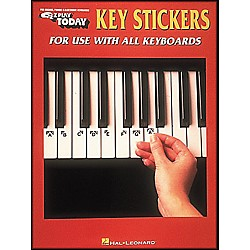 Hal Leonard E-Z Play Key Stickers For Use With All Keyboards (100016)