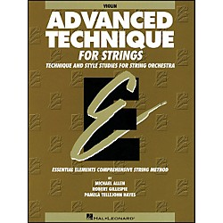 Hal Leonard EE Advanced Technique For Strings Violin (868034)