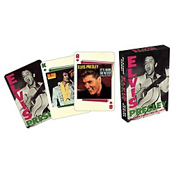 Hal Leonard ELVIS COVERS PLAYING CARD DECK (123883)