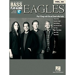 Hal Leonard Eagles - Bass Play-Along Vol. 49 Book/CD (119936)