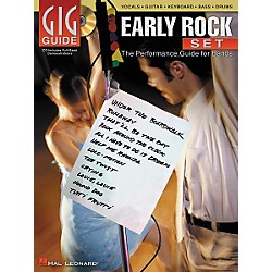 Hal Leonard Early Rock Set Gig Guide Book with CD (310931)