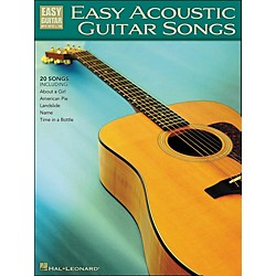 Hal Leonard Easy Acoustic Guitar Songs Easy Guitar Tab (702257)