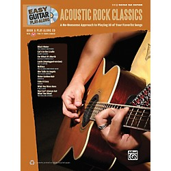 Hal Leonard Easy Guitar Play-Along Acoustic Rock Classics Book & CD (702308)
