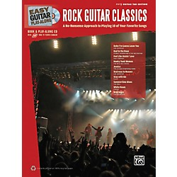 Hal Leonard Easy Guitar Play-Along Rock Guitar Classics Book & CD (702309)