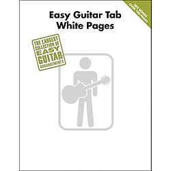 Hal Leonard Easy Guitar Tab White Pages Songbook (702280)