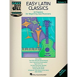 Hal Leonard Easy Latin Classics - Easy Jazz Play-Along Volume 5 Book/CD (843242)