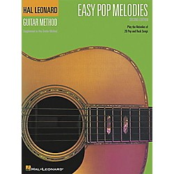 Hal Leonard Easy Pop Melodies - 2nd Edition Guitar Chord Songbook (697281)