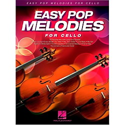Hal Leonard Easy Pop Melodies For Cello (125793)