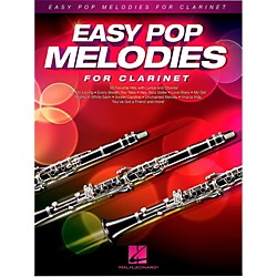 Hal Leonard Easy Pop Melodies For Clarinet (125785)