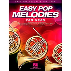 Hal Leonard Easy Pop Melodies For Horn (125790)