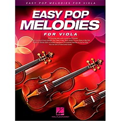 Hal Leonard Easy Pop Melodies For Viola (125792)