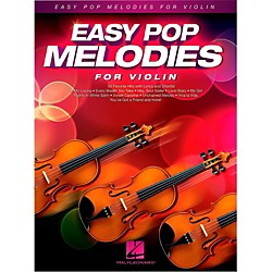 Hal Leonard Easy Pop Melodies For Violin (125791)