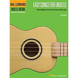 Hal Leonard Easy Songs For Ukulele Book - Supplementary Songbook To The Hal Leonard Ukulele Method (695905)