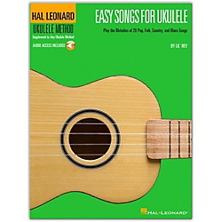 Hal Leonard Easy Songs For Ukulele Book/CD - Supplementary To The Hal Leonard Ukulele Method (695904)