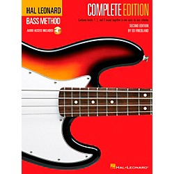 Hal Leonard Electric Bass Method - Second Edition (Book/CD) (695074)