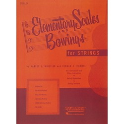 Hal Leonard Elementary Scales And Bowings - Cello (4473270)