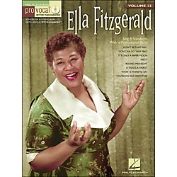 Hal Leonard Ella Fitzgerald Pro Vocal Songbook & CD For Female Singers Volume 12 (740378)