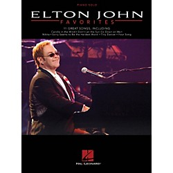 Hal Leonard Elton John Favorites - Piano Solo (307352)