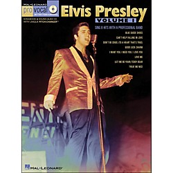 Hal Leonard Elvis Presley - Pro Vocal Songbook Men's Edition Volume 1 Book/CD (740333)
