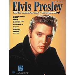 Hal Leonard Elvis Presley 25th Anniversary Piano, Vocal, Guitar Songbook (306496)