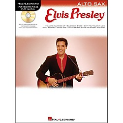 Hal Leonard Elvis Presley For Alto Sax - Instrumental Play-Along Book/CD Pkg (842365)