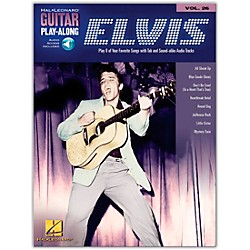 Hal Leonard Elvis Presley Guitar Play-Along Series Book & CD (699643)