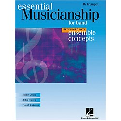 Hal Leonard Ensemble Concepts for Band - Intermediate Level Trumpet (960139)