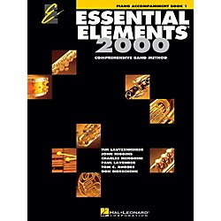 Hal Leonard Essential Elements Band Method Piano Accompaniment Book 1 (862584)