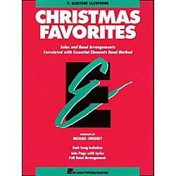 Hal Leonard Essential Elements Christmas Favorites E Flat Baritone Saxophone (862508)
