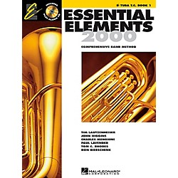 Hal Leonard Essential Elements E-Flat Tuba T.C. Book 1 Book/CD (862614)