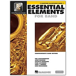 Hal Leonard Essential Elements For Band - Bari Saxophone Book 1 With EEi (Book/CD-ROM) (862574)