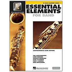Hal Leonard Essential Elements For Band - Bass Clarinet Book 1 With EEi (Book/CD-ROM) (862571)