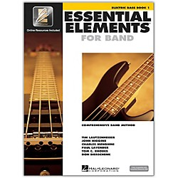 Hal Leonard Essential Elements For Band - Electric Bass Book 1 With EEi (Book/CD-ROM) (862581)