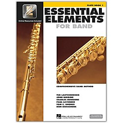 Hal Leonard Essential Elements For Band - Flute Book 1 with EEi (Book/CD-ROM) (862566)