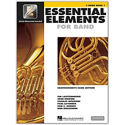 Hal Leonard Essential Elements For Band - French Horn Book 1 With EEi (Book/CD-ROM) (862576)