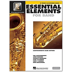 Hal Leonard Essential Elements For Band - Tenor Saxophone Book 1 With EEi (Book/CD-ROM) (862573)