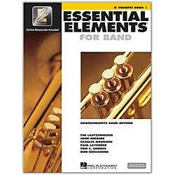 Hal Leonard Essential Elements For Band - Trumpet Book 1 With EEi (Book/CD-ROM) (862575)