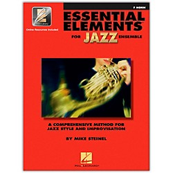 Hal Leonard Essential Elements For Jazz Ensemble F Horn 2CD/Pkg (841622)